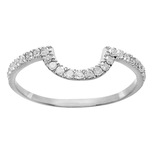 white gold 1 3ct curved notched pave diamond wedding band g h i1 i2